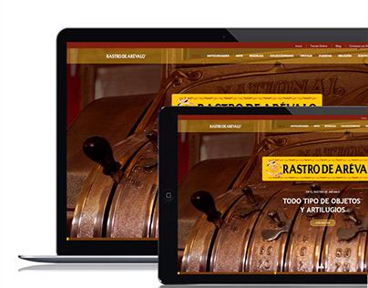 Rastro de Arevalo. Branding, UX Design, E-commerce