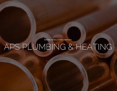 APS Plumbing & Heating website