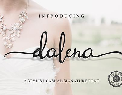 Dalena Script