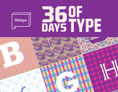36 day of Type/ Graphic Design
