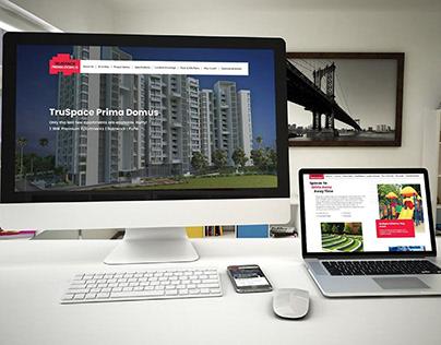 Website Launched - TruSpace Prima Domus