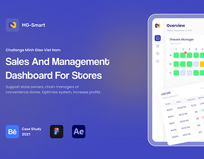 Sales and Management Dashboard