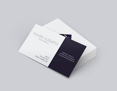 """Logo Design """"Thiago Augusto Audiovisual"""" (2018)"""