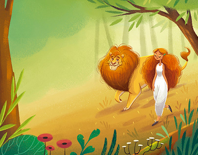 Storytime Magazine - The Lion in Love