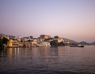 Udaipur, City of Lakes.