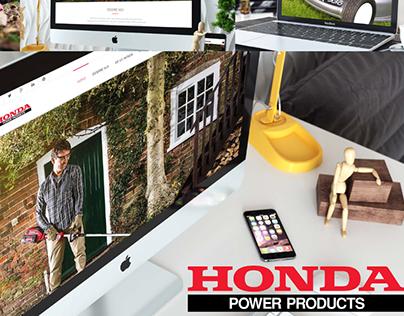 HONDA - Portfolio WEB Design