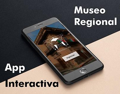 App Museo Regional