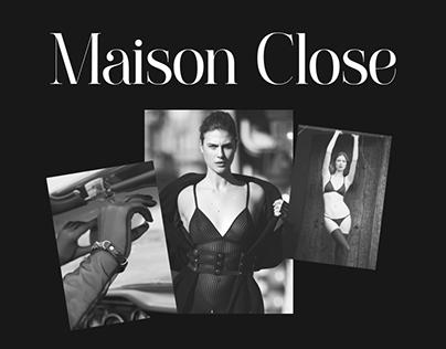 Redesign website - Maison Close