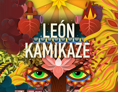 LEÓN KAMIKAZE - BOOK COVER