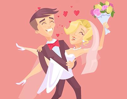 Just Wedding | Animated GIF