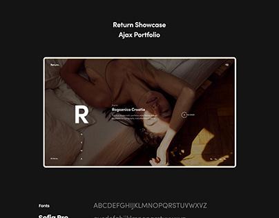 Return Showcase Portfolio Template