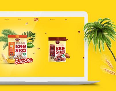 Website Concept for Kresko