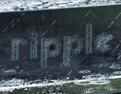 Rain & Ripple Typography