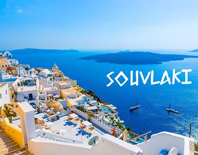 SOUVLAKI - GREEK MENU DESIGN