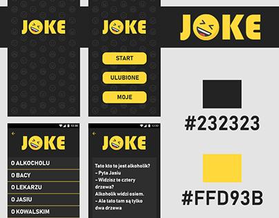 JOKE - mobile app