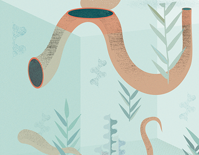Seafood story    Illustration