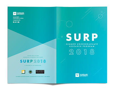 SURP Program | Print Design