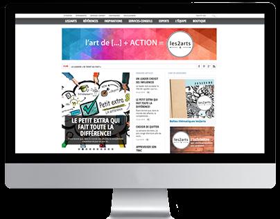 Plateforme les2arts.com