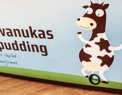 Kakaopudding packaging