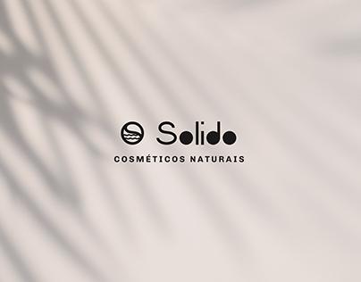 Solido Natural Cosmetics Branding Design