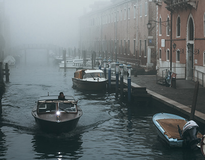 Cloudy morning in Venice