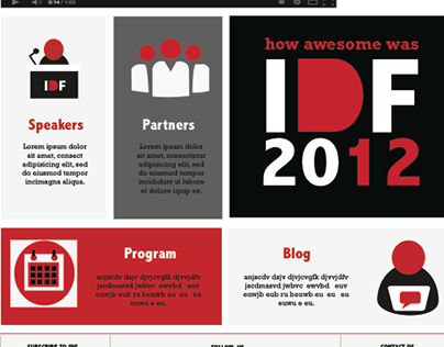 India Design Forum(Redesigning Website)