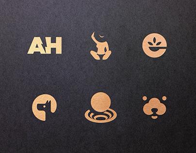 21 Negative Space Logos
