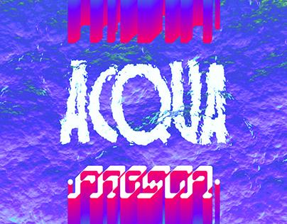 Space Villa & Dr.Ghezz - ACQUA ƒЯΣ§©Д - single cover