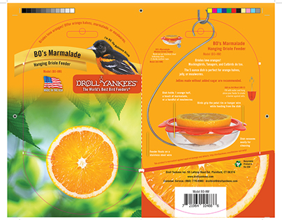 BO's Marmalade Packaging Design