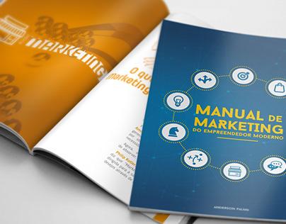 Projeto gráfico - Manual de marketing