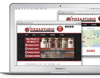 Pizza Studio website design & development