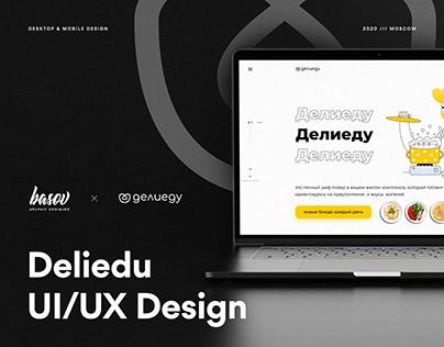 Deliedu UI/UX Design