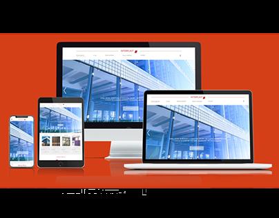 Strona internetowa Interplast