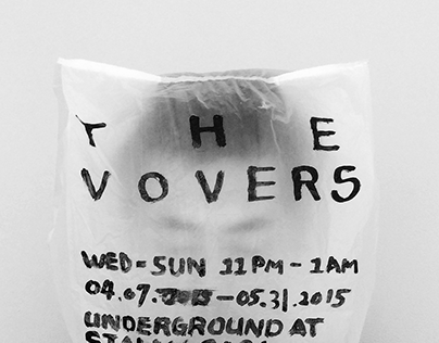 The Vovers - Posters Design for A Fictional Music Band