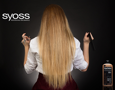 Syoss - Shampoo Advertising Photography