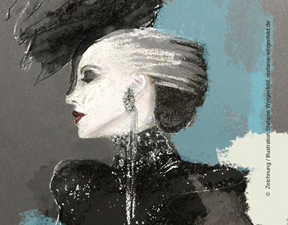Fashion Sketch II / Daphne Guinness
