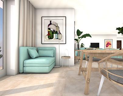 Seaside apartment in Malta