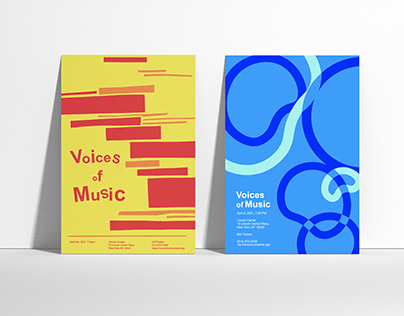 Voices of Music - Concert Poster