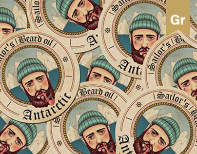 Sailor's beard oil