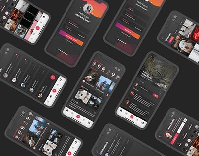 Instagram Redesign Project