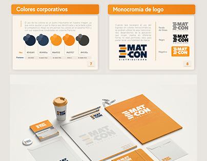Brandbook - Distribuidora MAT-CON