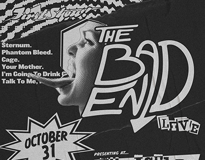 THE BAD END'S FIRST SHOW