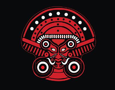 theyyam digital art