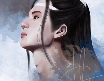 Yibo in LanZhan character Fanart