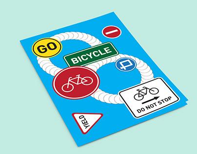 자전거연작 포스터 02