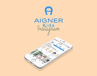 Aigner Kids | Instagram Marketing