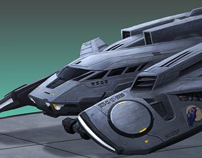 Raven Dropship Concept