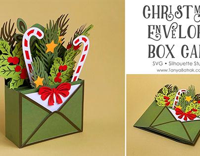 Christmas Envelope Box Card