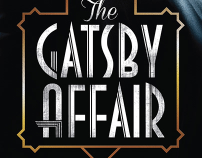 Gatsby Affair event branding