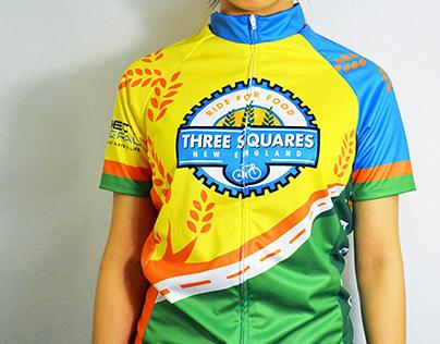 'Three Squares England'   Bike Jersey Contest
